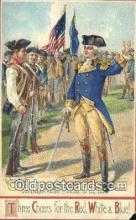 pol001124 - Artist Veenfliet, George Washington, 1st President USA, Political, Old Vintage Antique Postcard Post Card