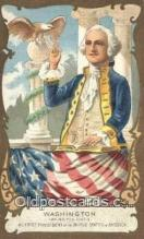 pol001125 - George Washington, 1st President USA, Political, Old Vintage Antique Postcard Post Card