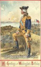 pol001126 - Artist Veenfliet, George Washington, 1st President USA, Political, Old Vintage Antique Postcard Post Card