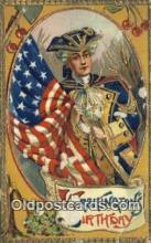 pol001127 - George Washington, 1st President USA, Political, Old Vintage Antique Postcard Post Card