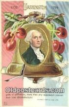pol001128 - George Washington, 1st President USA, Political, Old Vintage Antique Postcard Post Card