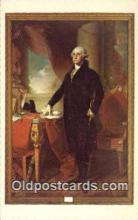 pol001130 - George Washington, 1st President USA, Political, Old Vintage Antique Postcard Post Card