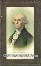 pol001133 - George Washington, 1st President USA, Political, Old Vintage Antique Postcard Post Card
