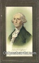 pol001133 - George Washington, 1st President USA, Political, Old Vintage Antique Postcard Post Card