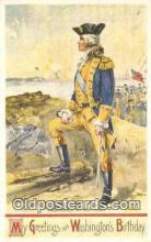 pol001136 - Artist Veenfliet, George Washington, 1st President USA, Political, Old Vintage Antique Postcard Post Card