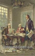 pol001140 - George Washington, 1st President USA, Political, Old Vintage Antique Postcard Post Card