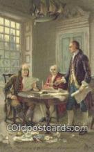 pol001140 - George Washington, 1st President USA, Political, Old Vintage Antique Postcard Post Card