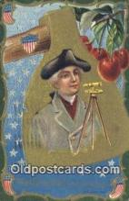 pol001147 - George Washington, 1st President USA, Political, Old Vintage Antique Postcard Post Card