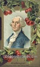 pol001148 - George Washington, 1st President USA, Political, Old Vintage Antique Postcard Post Card