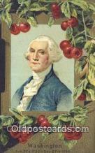 pol001152 - George Washington, 1st President USA, Political, Old Vintage Antique Postcard Post Card