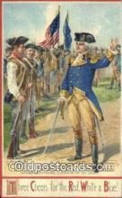 pol001165 - Artist Veenfliet, George Washington, 1st President USA, Political, Old Vintage Antique Postcard Post Card