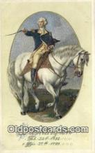 pol001172 - George Washington, 1st President USA, Political, Old Vintage Antique Postcard Post Card