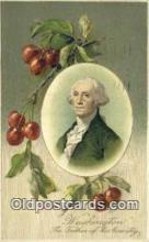 pol001174 - George Washington, 1st President USA, Political, Old Vintage Antique Postcard Post Card