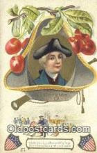 pol001186 - George Washington, 1st President USA, Political, Old Vintage Antique Postcard Post Card
