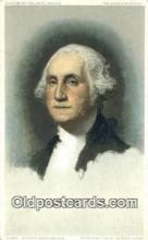 pol001195 - George Washington, 1st President USA, Political, Old Vintage Antique Postcard Post Card