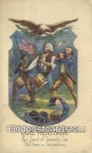 pol001203 - George Washington, 1st President USA, Political, Old Vintage Antique Postcard Post Card