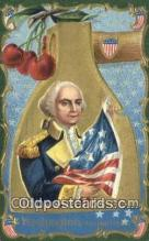pol001204 - George Washington, 1st President USA, Political, Old Vintage Antique Postcard Post Card