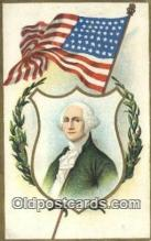 pol001206 - George Washington, 1st President USA, Political, Old Vintage Antique Postcard Post Card