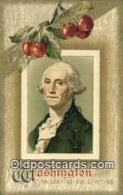 pol001212 - George Washington, 1st President USA, Political, Old Vintage Antique Postcard Post Card