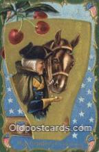 pol001213 - George Washington, 1st President USA, Political, Old Vintage Antique Postcard Post Card