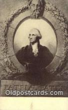 pol001214 - George Washington, 1st President USA, Political, Old Vintage Antique Postcard Post Card