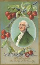 pol001215 - George Washington, 1st President USA, Political, Old Vintage Antique Postcard Post Card
