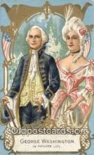 pol001219 - George Washington, 1st President USA, Political, Old Vintage Antique Postcard Post Card