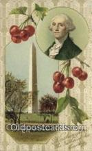 pol001220 - George Washington, 1st President USA, Political, Old Vintage Antique Postcard Post Card