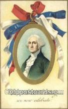pol001221 - Artist Clapsaddle, George Washington, 1st President USA, Political, Old Vintage Antique Postcard Post Card