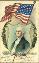 pol001223 - Artist Clapsaddle, George Washington, 1st President USA, Political, Old Vintage Antique Postcard Post Card