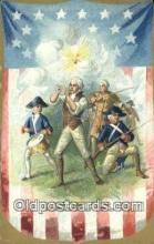 pol001231 - George Washington, 1st President USA, Political, Old Vintage Antique Postcard Post Card