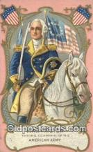 pol001233 - George Washington, 1st President USA, Political, Old Vintage Antique Postcard Post Card