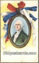 pol001235 - George Washington, 1st President USA, Political, Old Vintage Antique Postcard Post Card