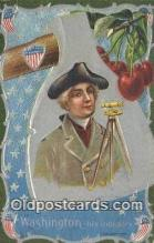pol001240 - George Washington, 1st President USA, Political, Old Vintage Antique Postcard Post Card