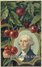 pol001243 - George Washington, 1st President USA, Political, Old Vintage Antique Postcard Post Card