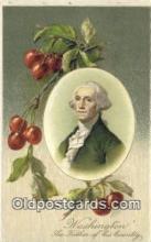 pol001247 - George Washington, 1st President USA, Political, Old Vintage Antique Postcard Post Card