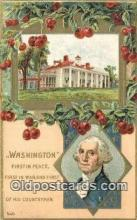 pol001252 - George Washington, 1st President USA, Political, Old Vintage Antique Postcard Post Card
