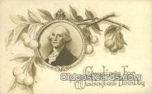 pol001263 - George Washington, 1st President USA, Political, Old Vintage Antique Postcard Post Card