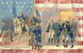 pol001269 - George Washington, 1st President USA, Political, Old Vintage Antique Postcard Post Card