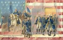 pol001274 - George Washington, 1st President USA, Political, Old Vintage Antique Postcard Post Card
