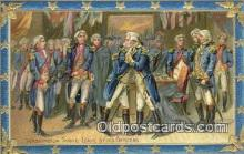 pol001277 - George Washington, 1st President USA, Political, Old Vintage Antique Postcard Post Card