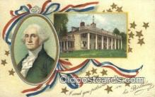 pol001286 - Artist Clapsaddle, George Washington, 1st President USA, Political, Old Vintage Antique Postcard Post Card