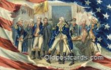 pol001288 - George Washington, 1st President USA, Political, Old Vintage Antique Postcard Post Card