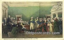 pol001297 - George Washington, 1st President USA, Political, Old Vintage Antique Postcard Post Card