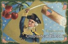 pol001298 - George Washington, 1st President USA, Political, Old Vintage Antique Postcard Post Card