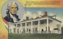 pol001304 - George Washington, 1st President USA, Political, Old Vintage Antique Postcard Post Card