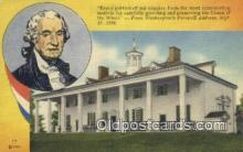 pol001305 - George Washington, 1st President USA, Political, Old Vintage Antique Postcard Post Card