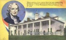 pol001307 - George Washington, 1st President USA, Political, Old Vintage Antique Postcard Post Card