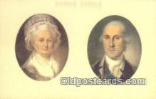 pol001310 - George Washington, 1st President USA, Political, Old Vintage Antique Postcard Post Card