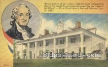pol001313 - George Washington, 1st President USA, Political, Old Vintage Antique Postcard Post Card